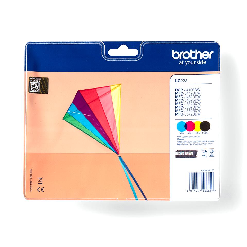 Original Brother LC-223 Value Pack 0