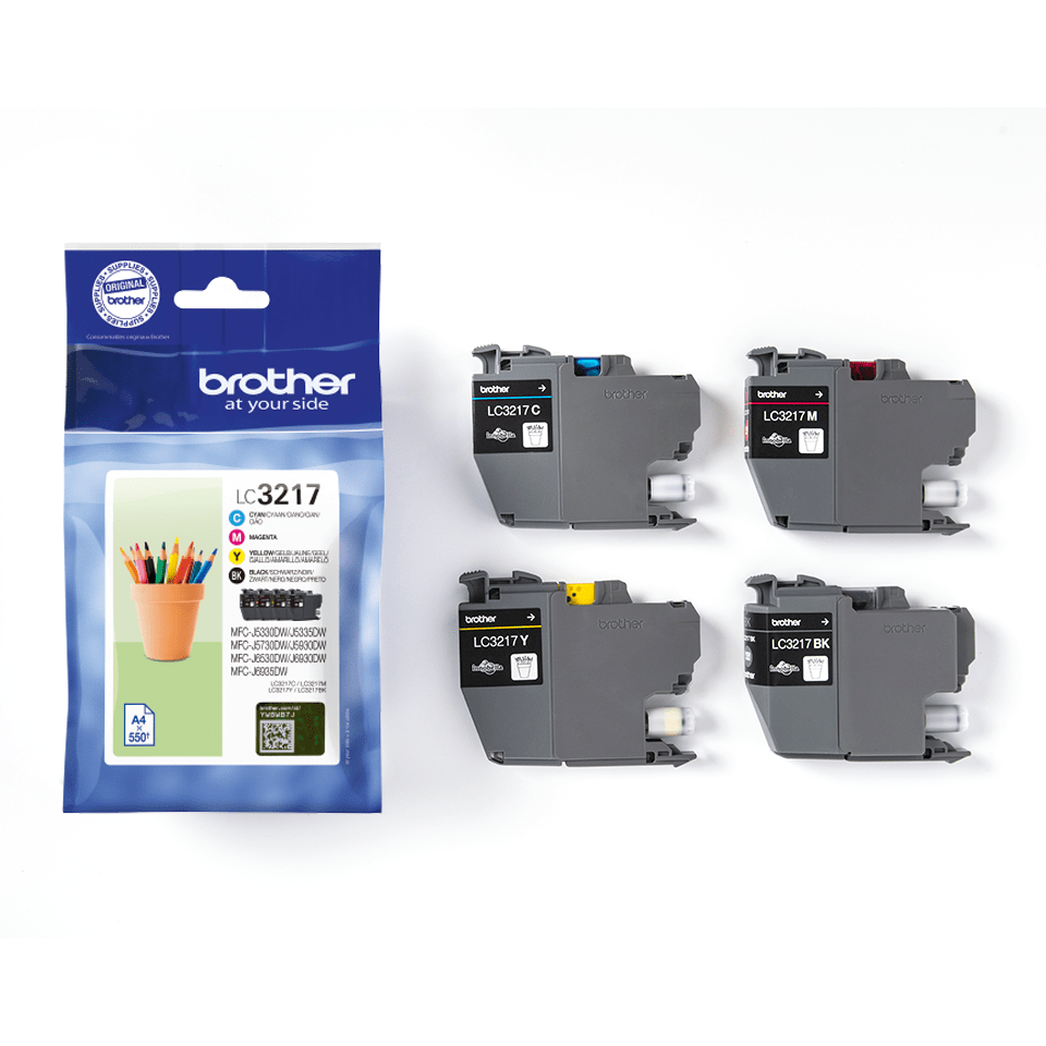 Original Brother LC-3217 Value Pack 2