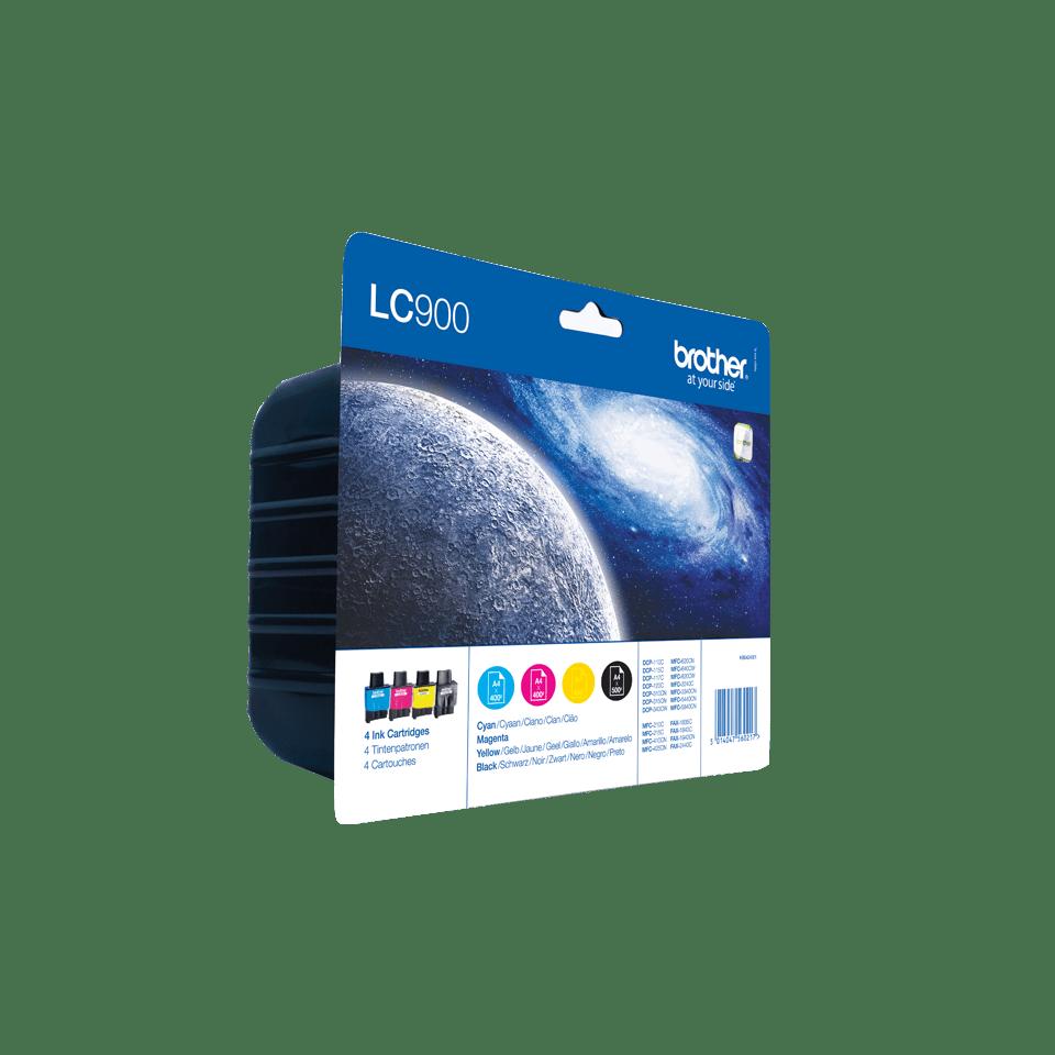 Original Brother LC-900 Value Pack 2