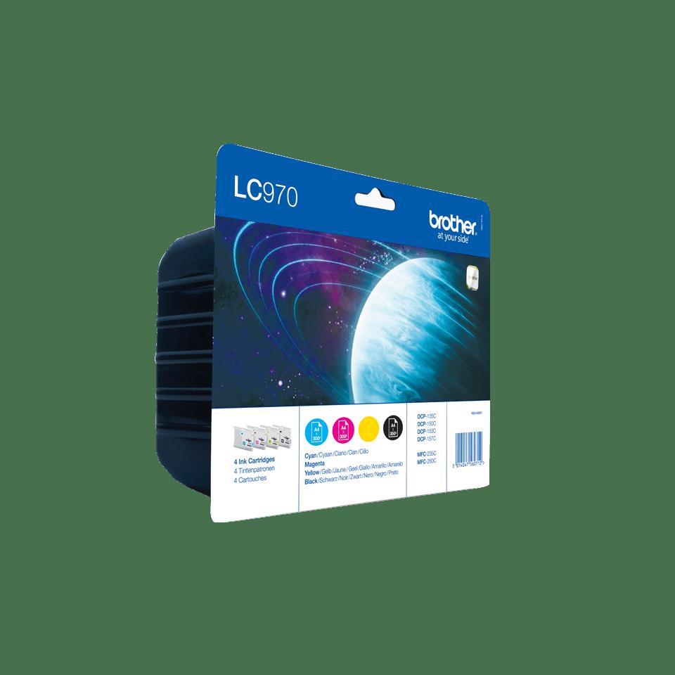 Original Brother LC-970 Value Pack 2