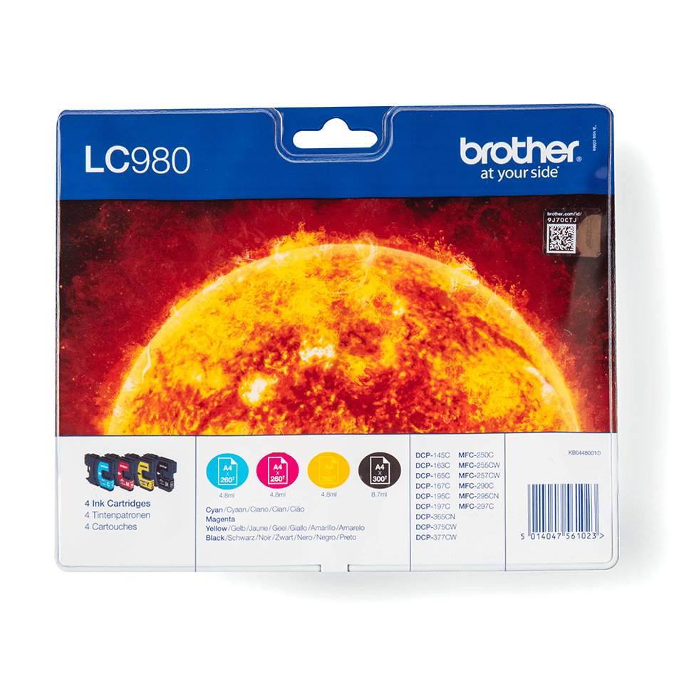 Original Brother LC-980 Value Pack 0