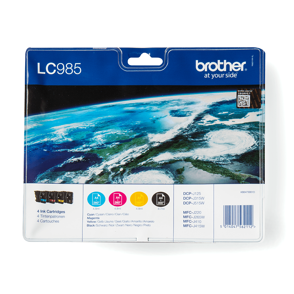 Original Brother LC-985 Value Pack 0
