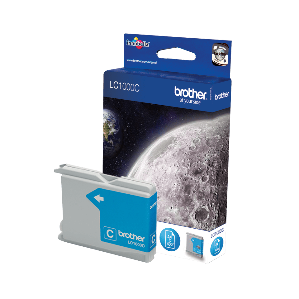 Brother LC-1000C Tintenpatrone – Cyan 2