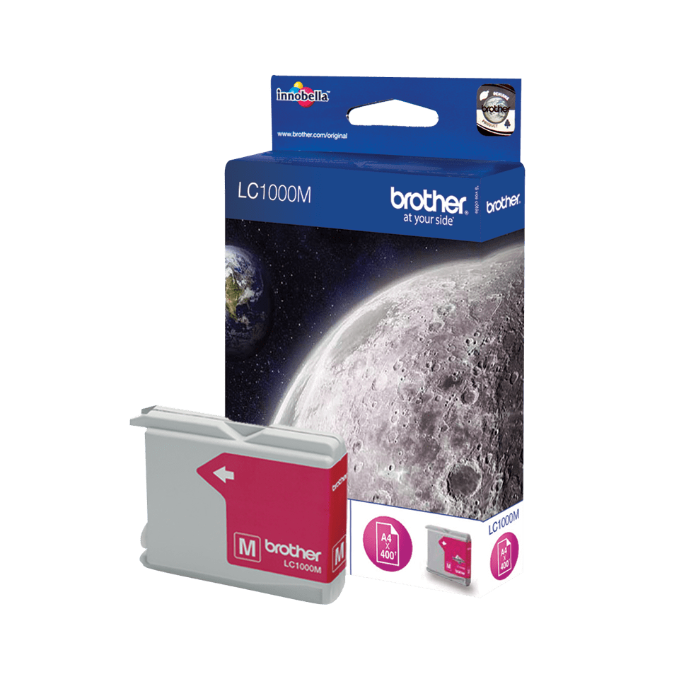 Brother LC-1000M Tintenpatrone – Magenta 2