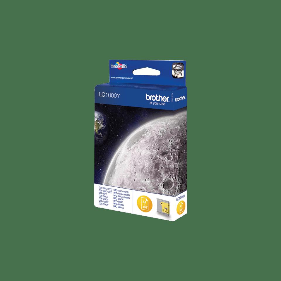 Brother LC-1000Y Tintenpatronen – Gelb