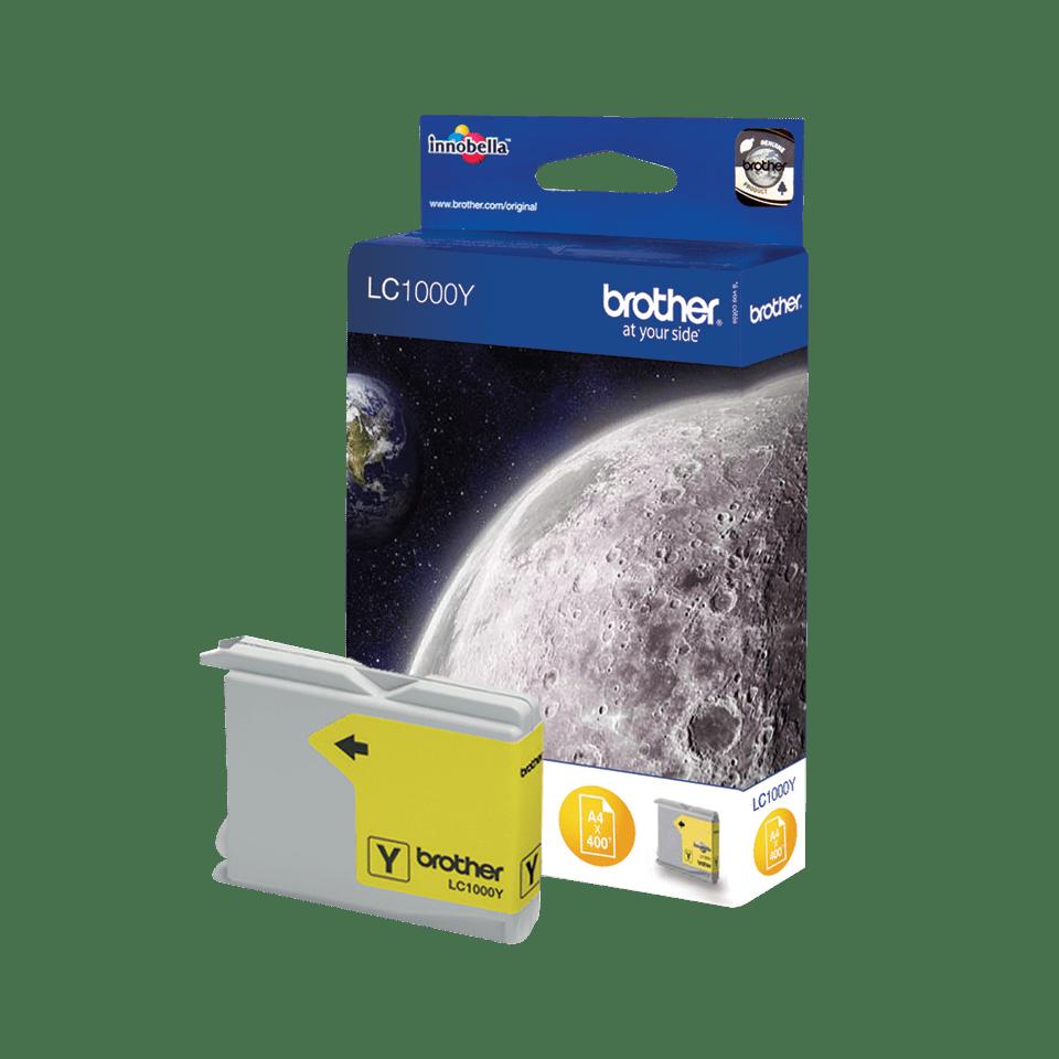Brother LC-1000Y Tintenpatronen – Gelb 2