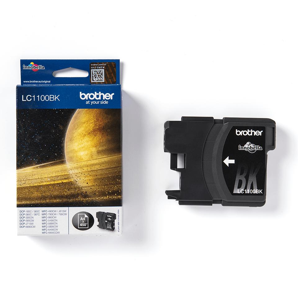 Brother LC-1100BK Tintenpatrone - Schwarz 2