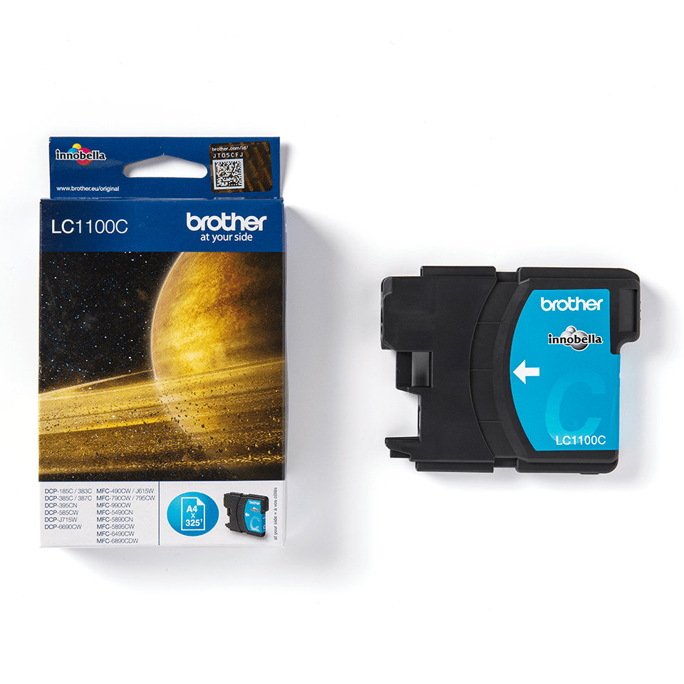 Brother LC-1100C Tintenpatrone – Cyan 2