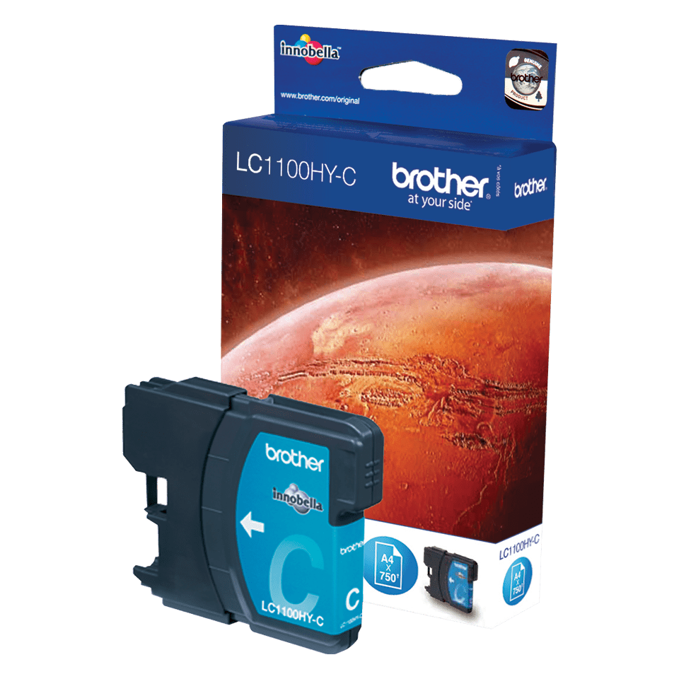 Brother LC-1100HY-C Tintenpatrone – Cyan