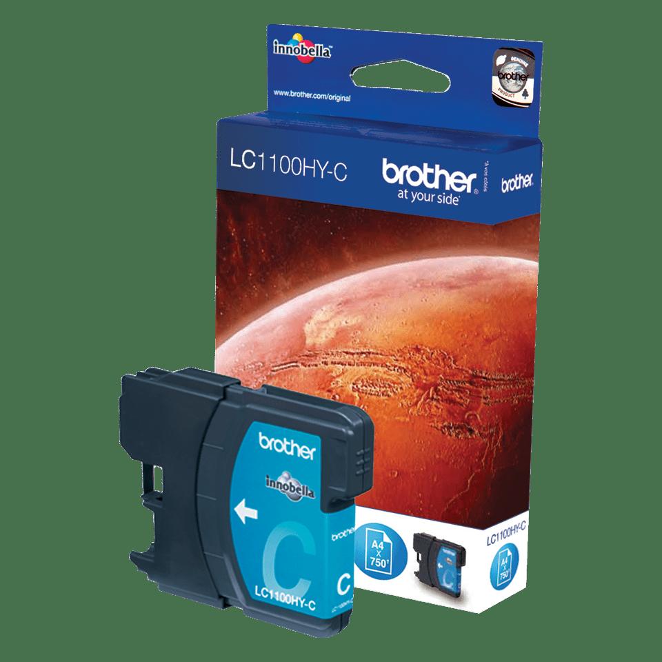 Brother LC-1100HY-C Tintenpatrone – Cyan