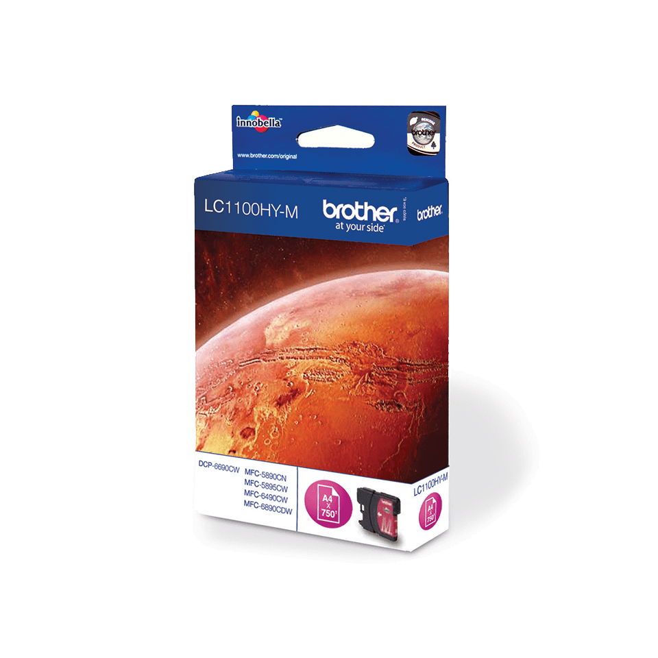 Brother LC-1100HY-M Tintenpatrone – Magenta 2