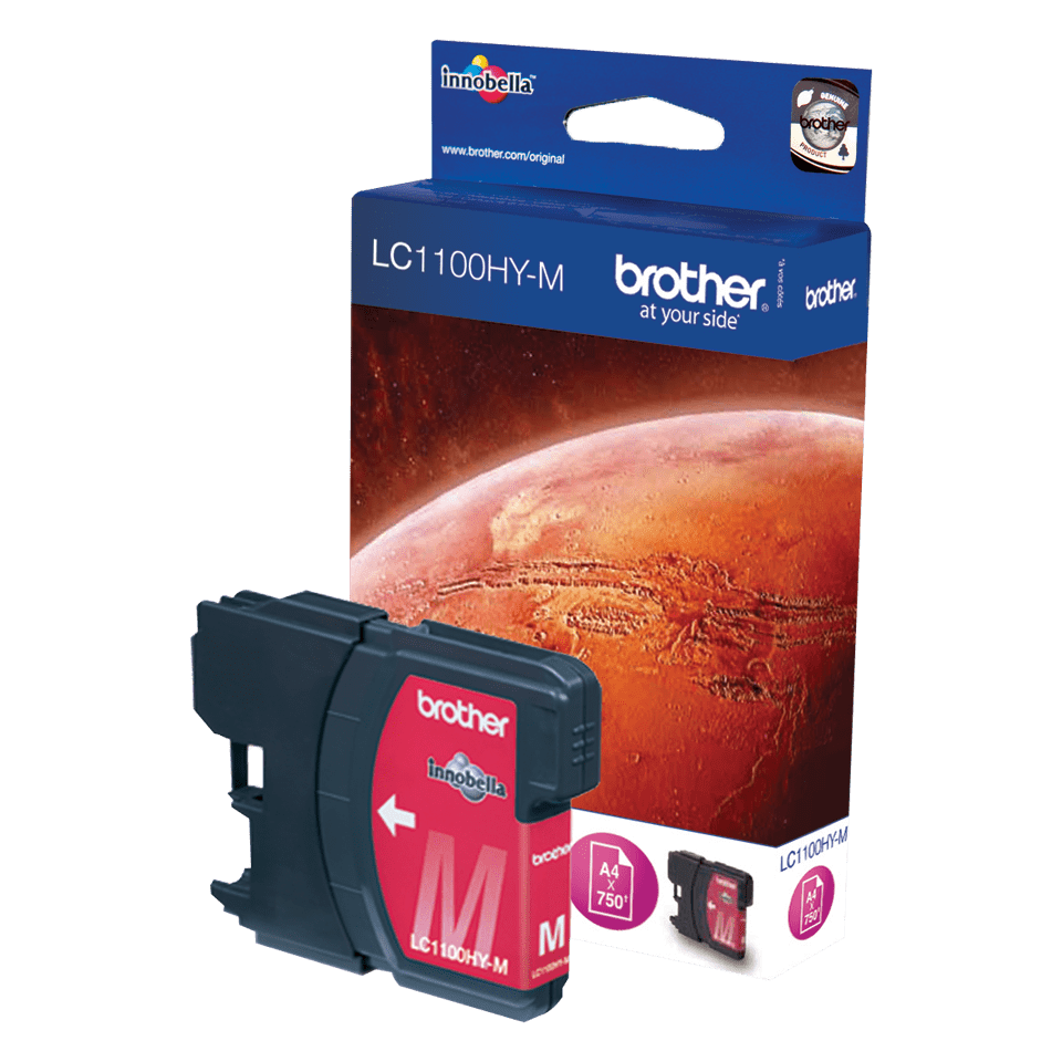 Brother LC-1100HY-M Tintenpatrone – Magenta