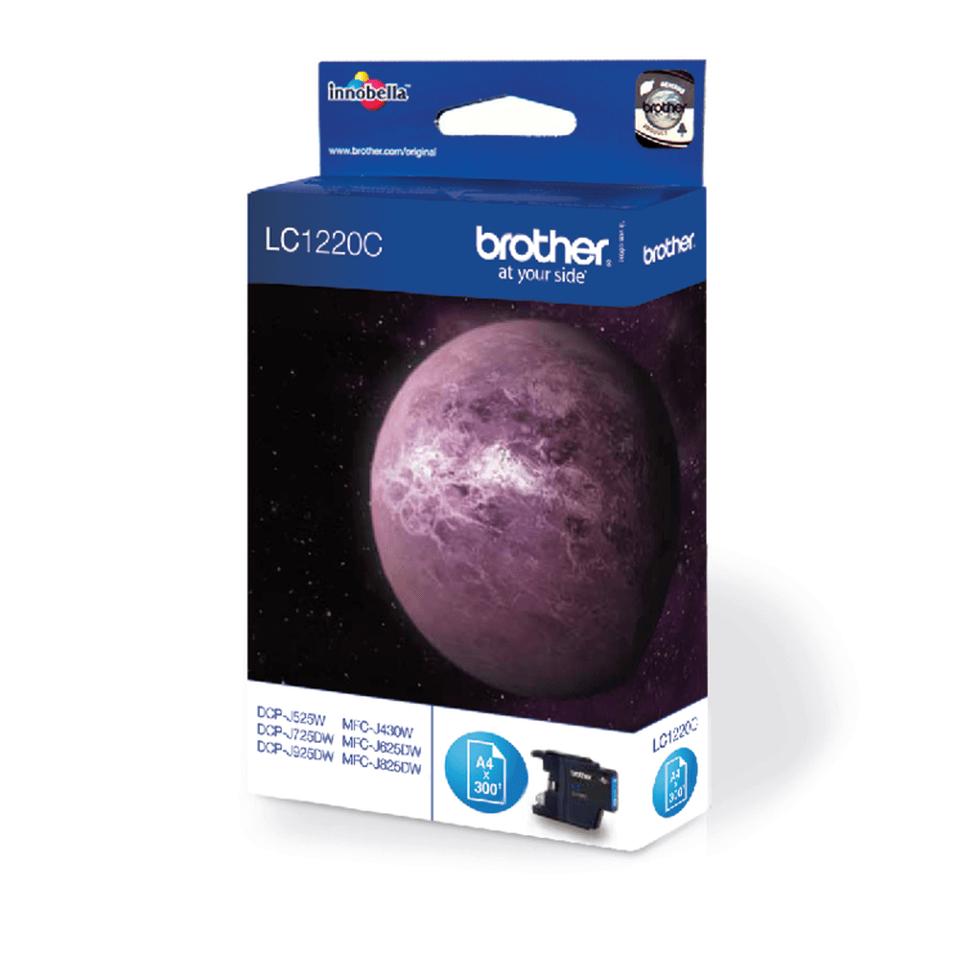 Brother LC-1220C Tintenpatrone – Cyan 2