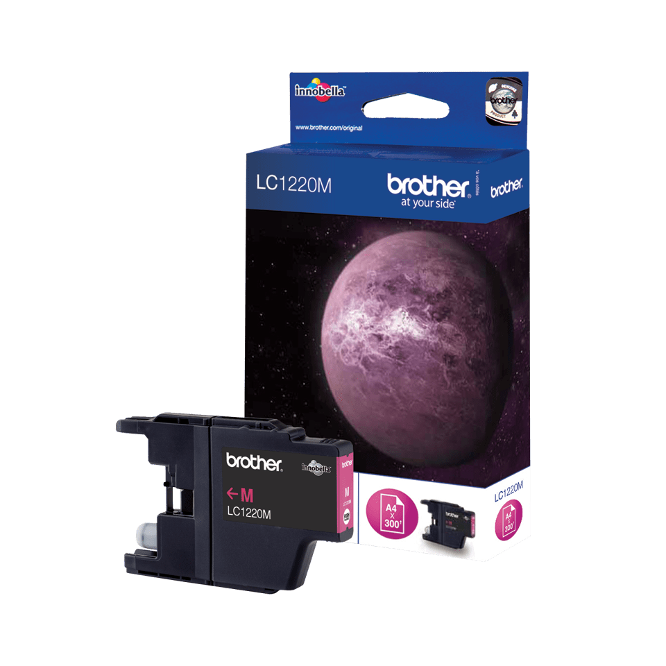 Brother LC-1220M Tintenpatrone – Magenta