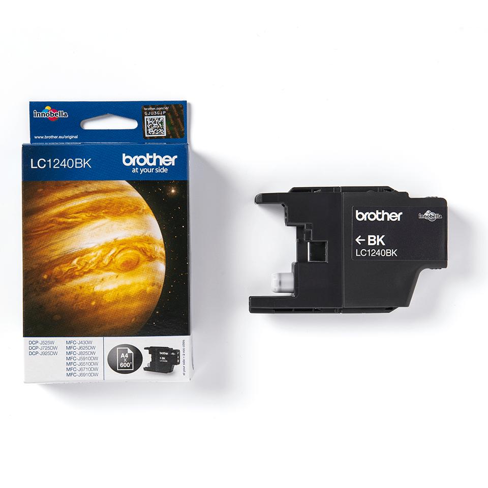 Brother LC-1240BK Tintenpatrone – Schwarz 3