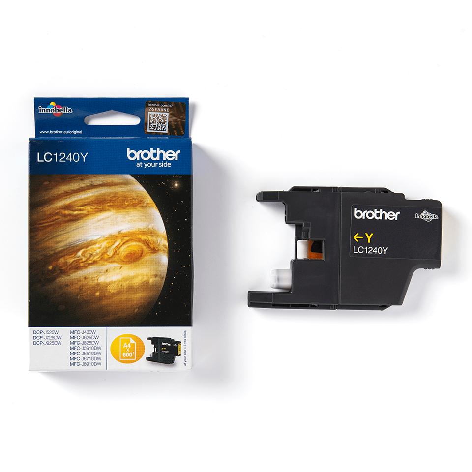 Brother LC-1240Y Tintenpatrone – Gelb 3