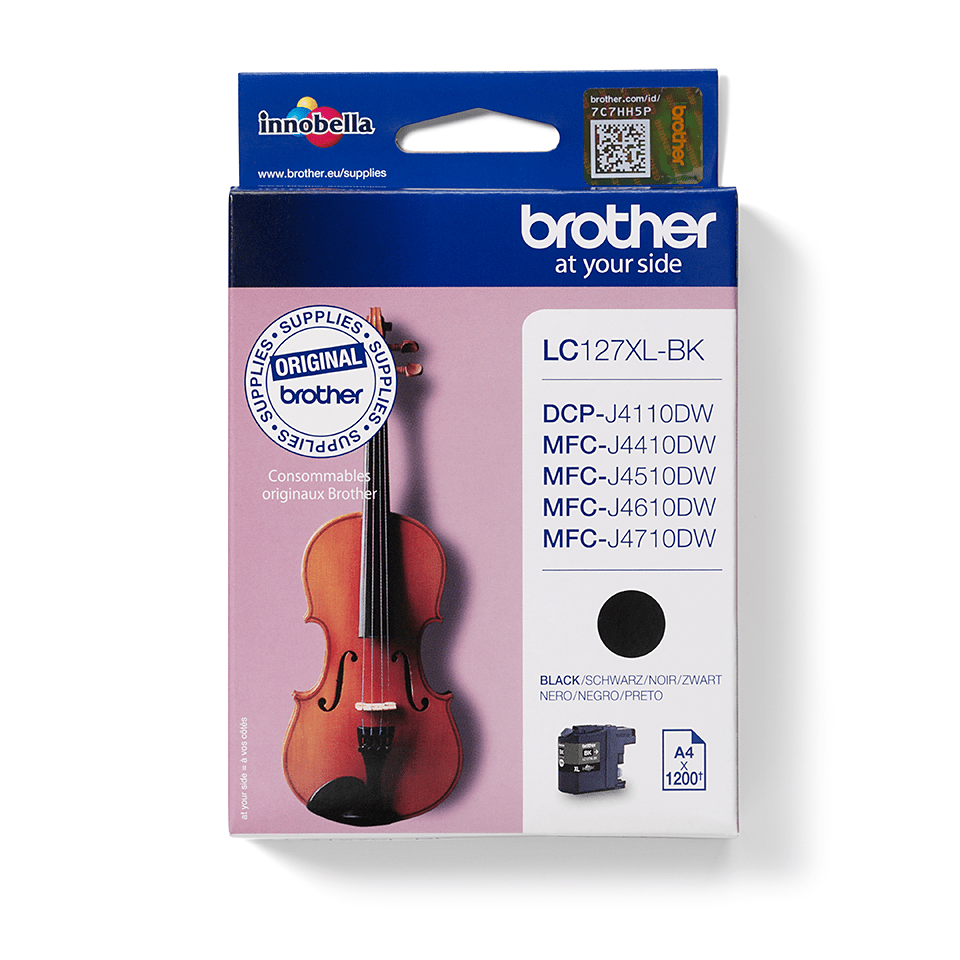 Brother LC-127XL-BK Tintenpatrone – Schwarz 0