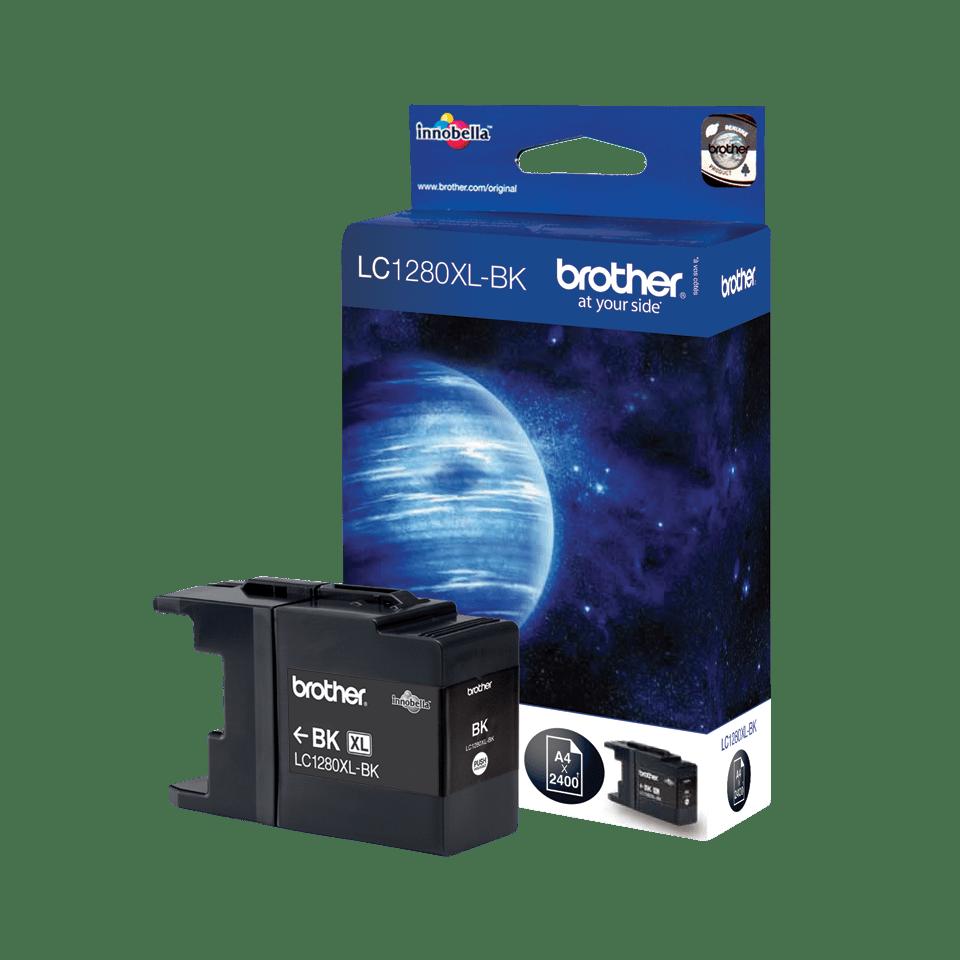 Brother LC-1280XL-BK Tintenpatrone – Schwarz 0
