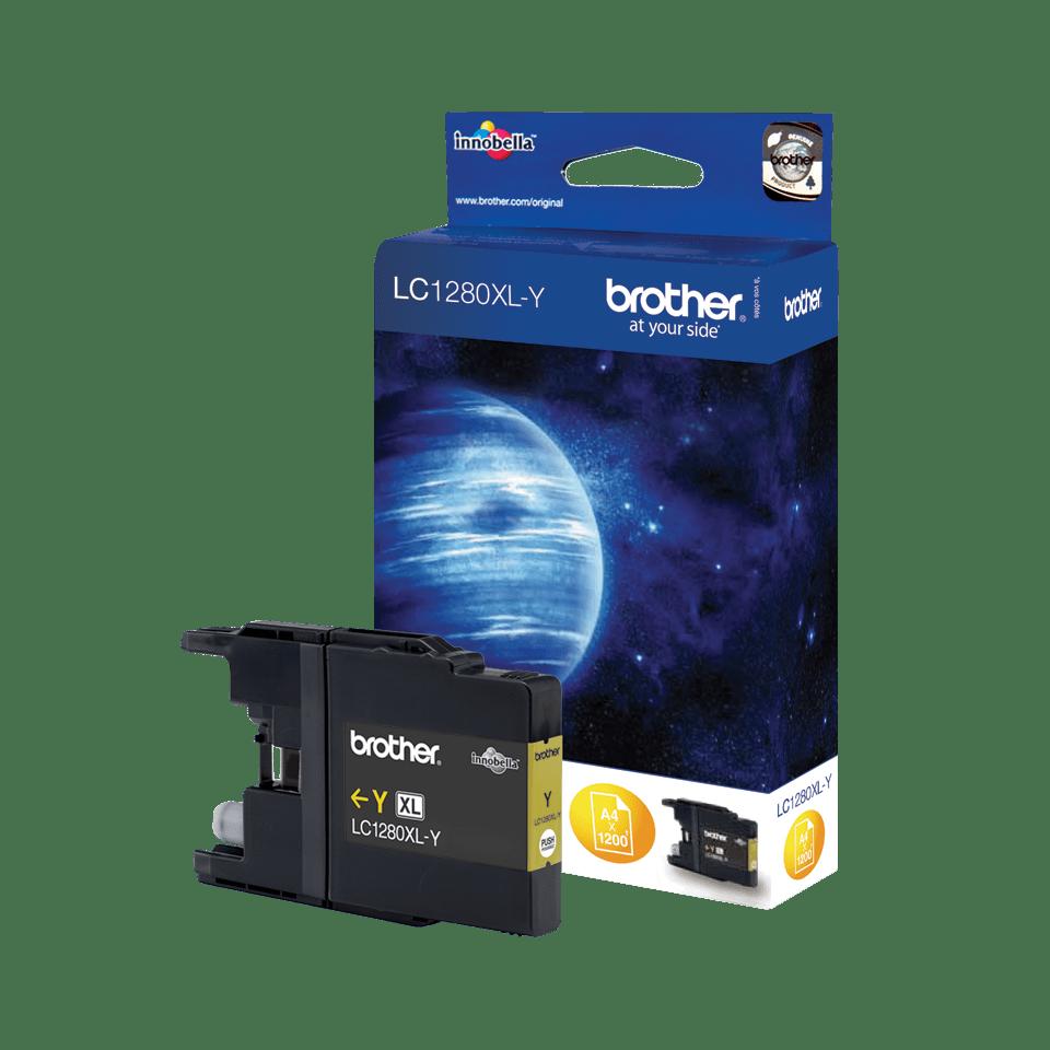 Brother LC-1280XL-Y Tintenpatrone – Gelb