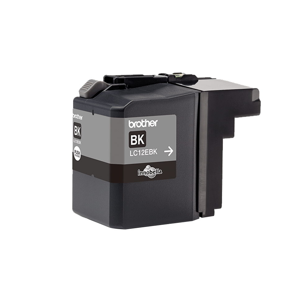 Brother LC-12EBK XL-Tintenpatrone – Schwarz