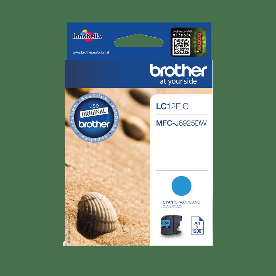 Brother LC-12EC XL-Tintenpatrone – Cyan 0