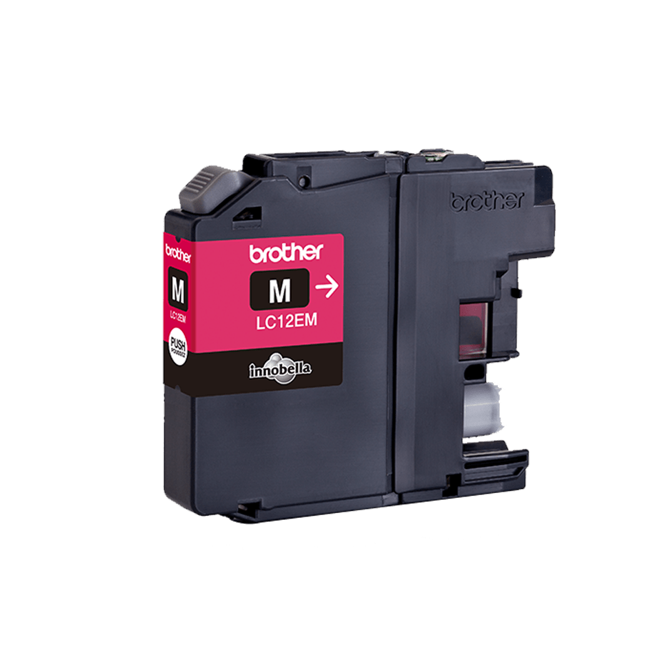 Brother LC-12EM XL-Tintenpatrone – Magenta