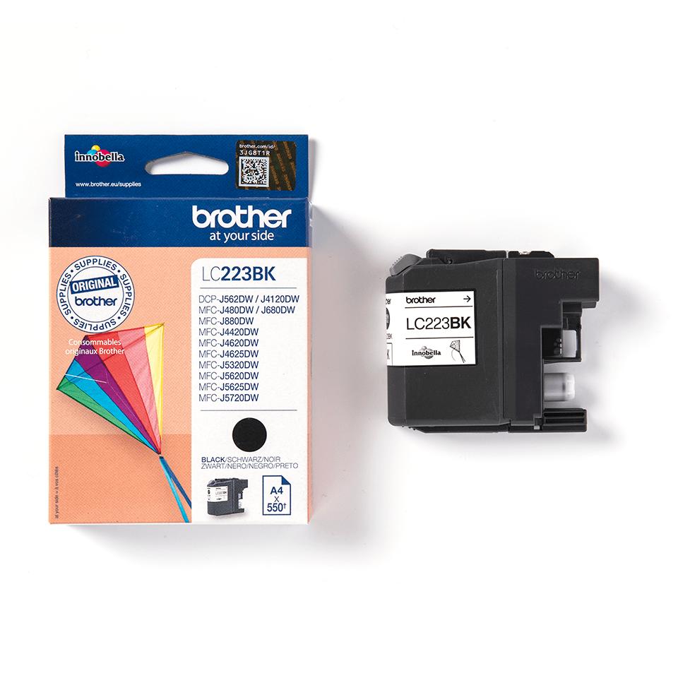 LC-223BK Original Tintenpatrone Schwarz 550 Seiten