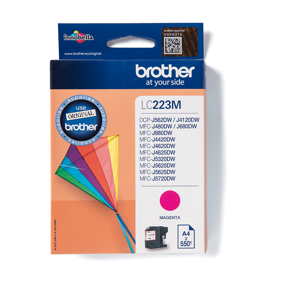 Brother LC-223M Tintenpatrone – Magenta 1