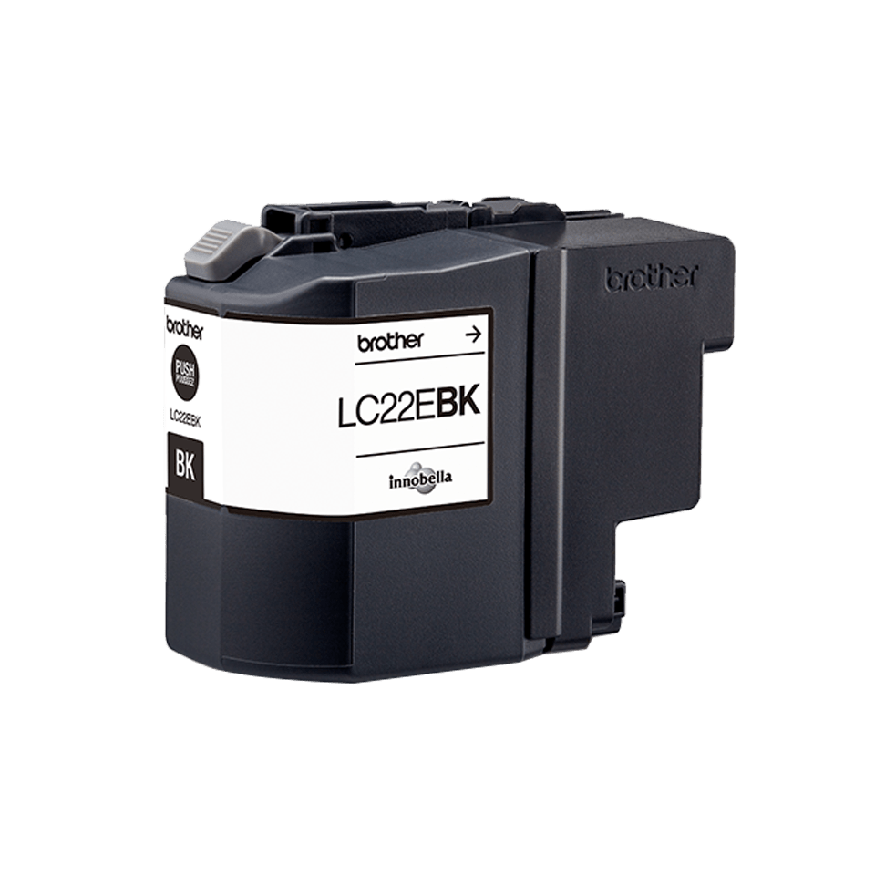 Brother LC-22EBK XL-Tintenpatrone – Schwarz 0