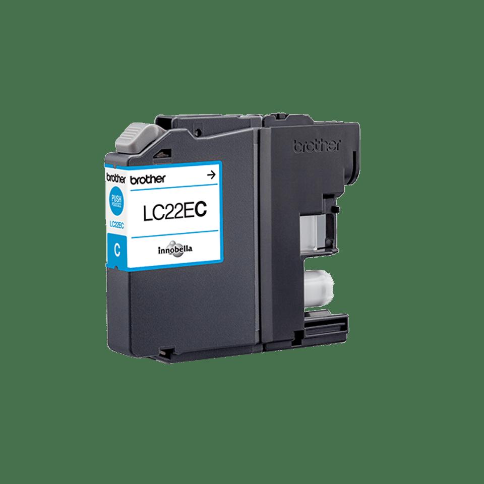 Brother LC-22EC XL-Tintenpatrone – Cyan 0