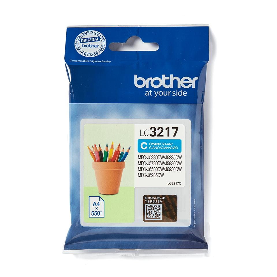 Brother LC-3217C Tintenpatrone – Cyan 2