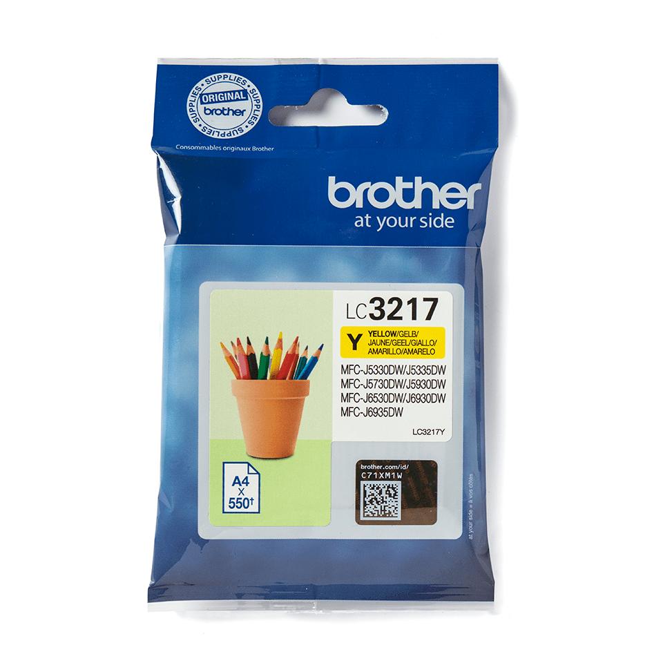 Brother LC-3217Y Tintenpatrone – Gelb 2