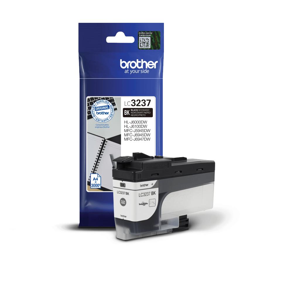Brother LC-3237BK Tintenpatrone – Schwarz 3