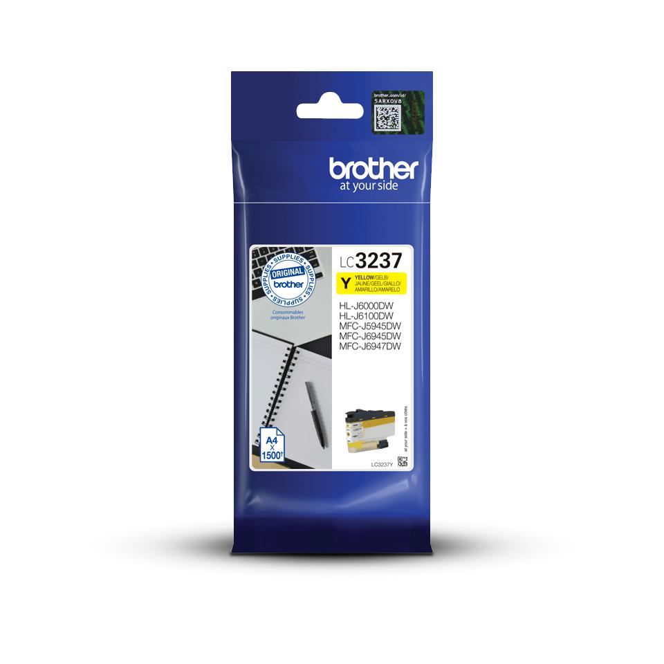 Brother LC-3237Y Tintenpatrone – Gelb 3