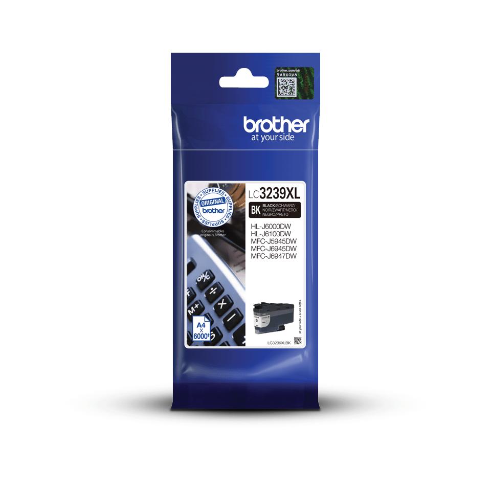 Brother LC-3239XL-BK Tintenpatrone – Schwarz 3