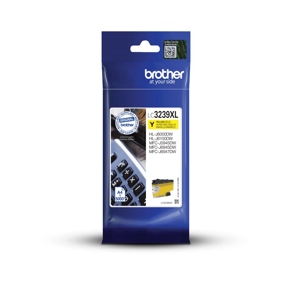 Brother LC-3239XL-Y Tintenpatrone – Gelb 3