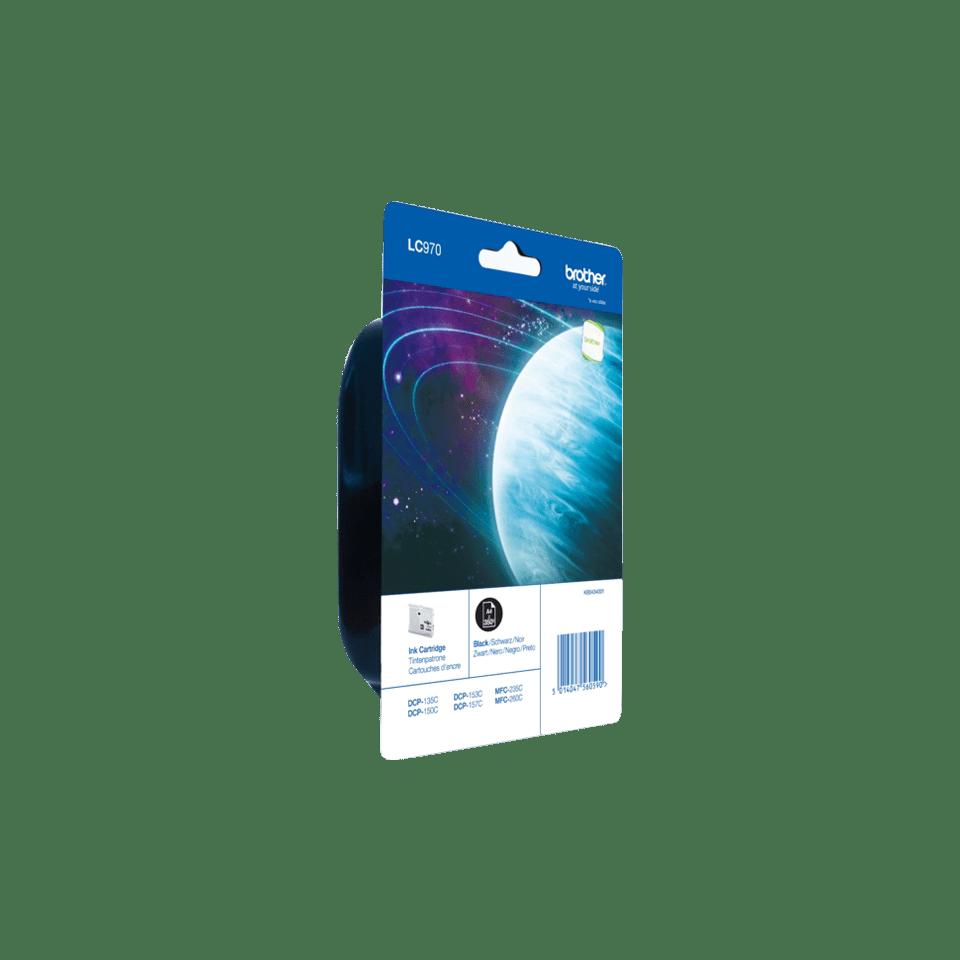 Brother LC-970BK Tintenpatrone – Schwarz 2