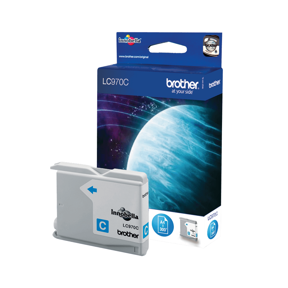 Brother LC-970C Tintenpatrone – Cyan