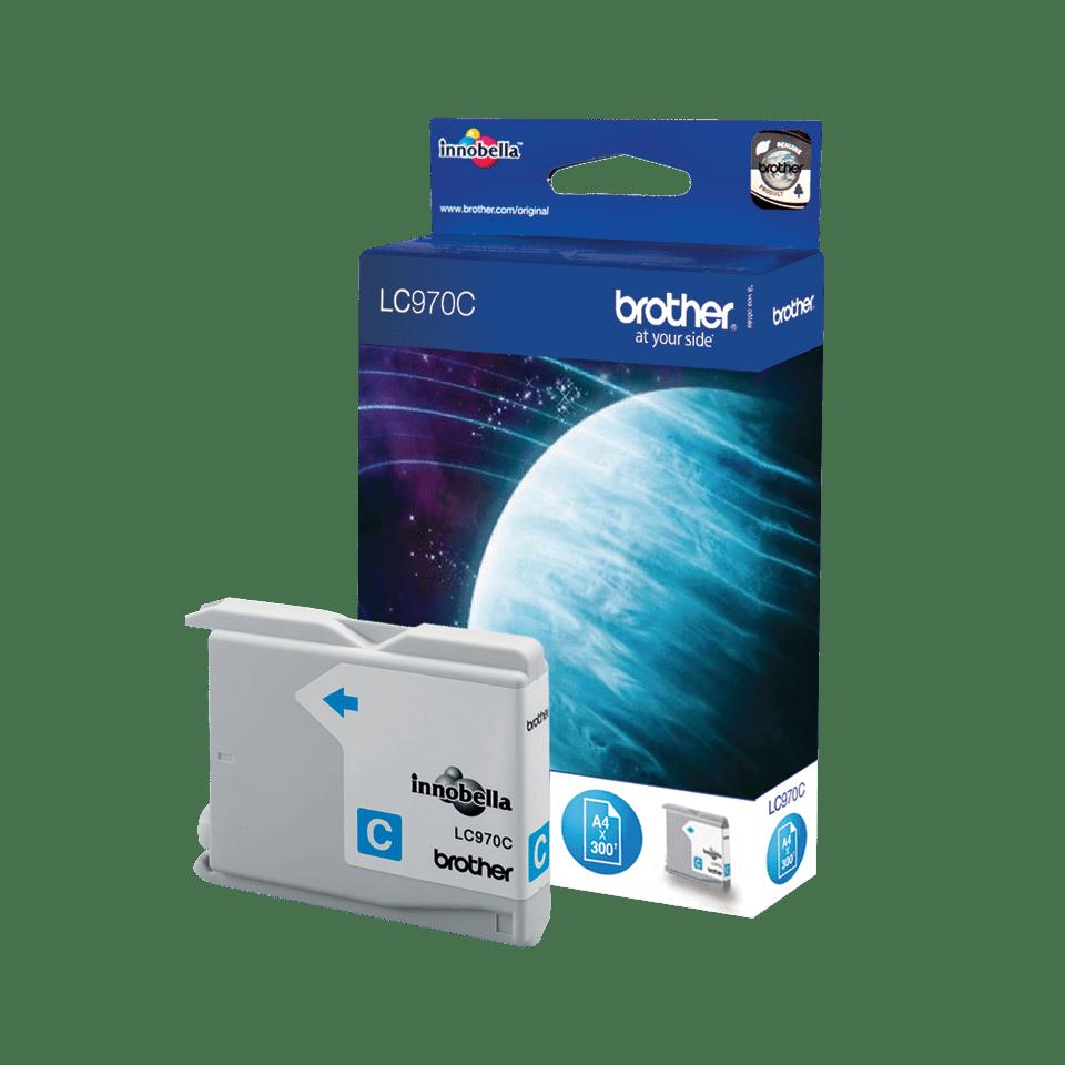 Brother LC-970C Tintenpatrone – Cyan