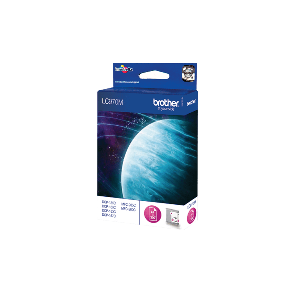Brother LC-970M Tintenpatrone – Magenta