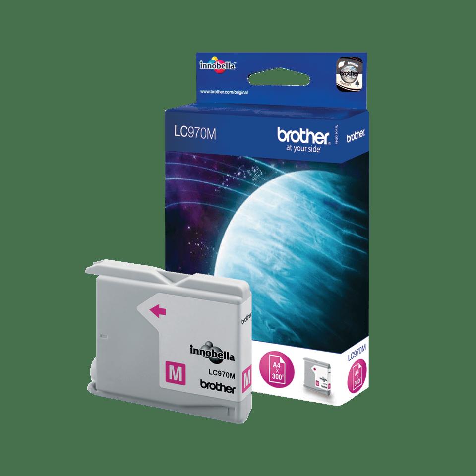 Brother LC-970M Tintenpatrone – Magenta 2