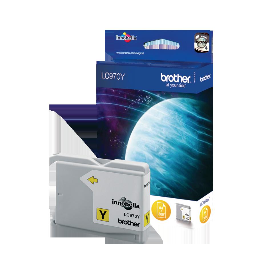 Brother LC-970Y Tintenpatronen – Gelb