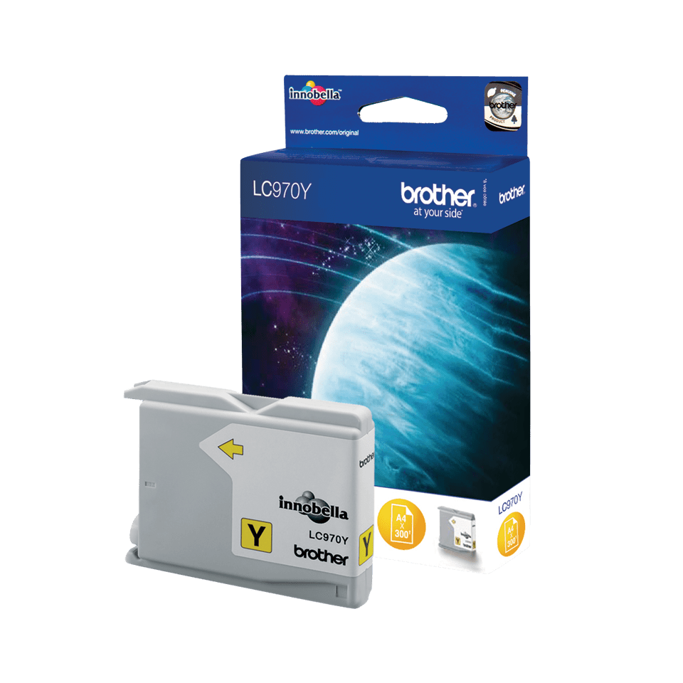 Brother LC-970Y Tintenpatronen – Gelb