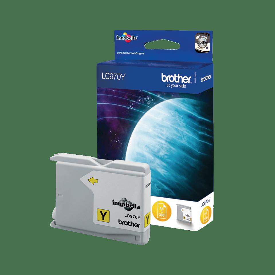 Brother LC-970Y Tintenpatronen – Gelb 0