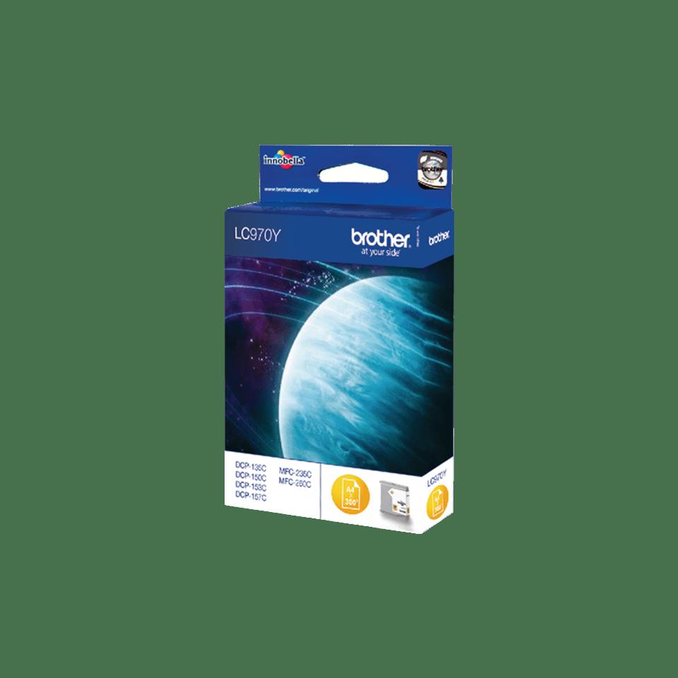 Brother LC-970Y Tintenpatronen – Gelb 1