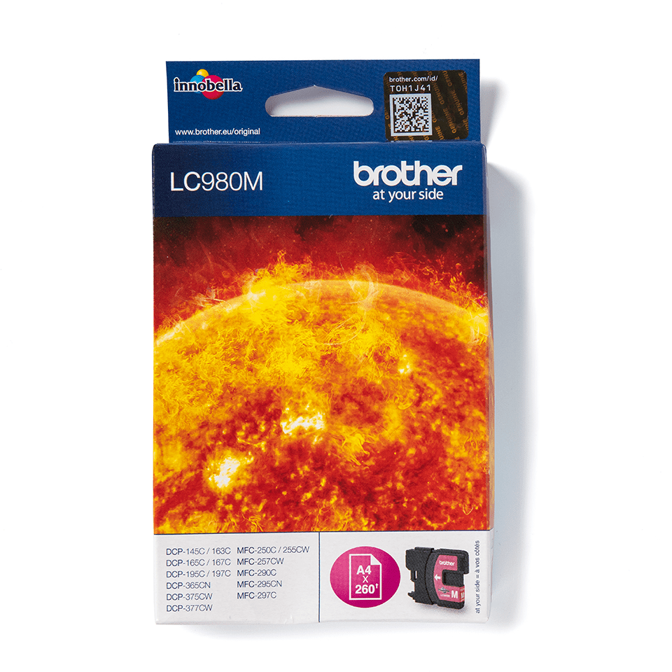 Brother LC-980M Tintenpatrone – Magenta