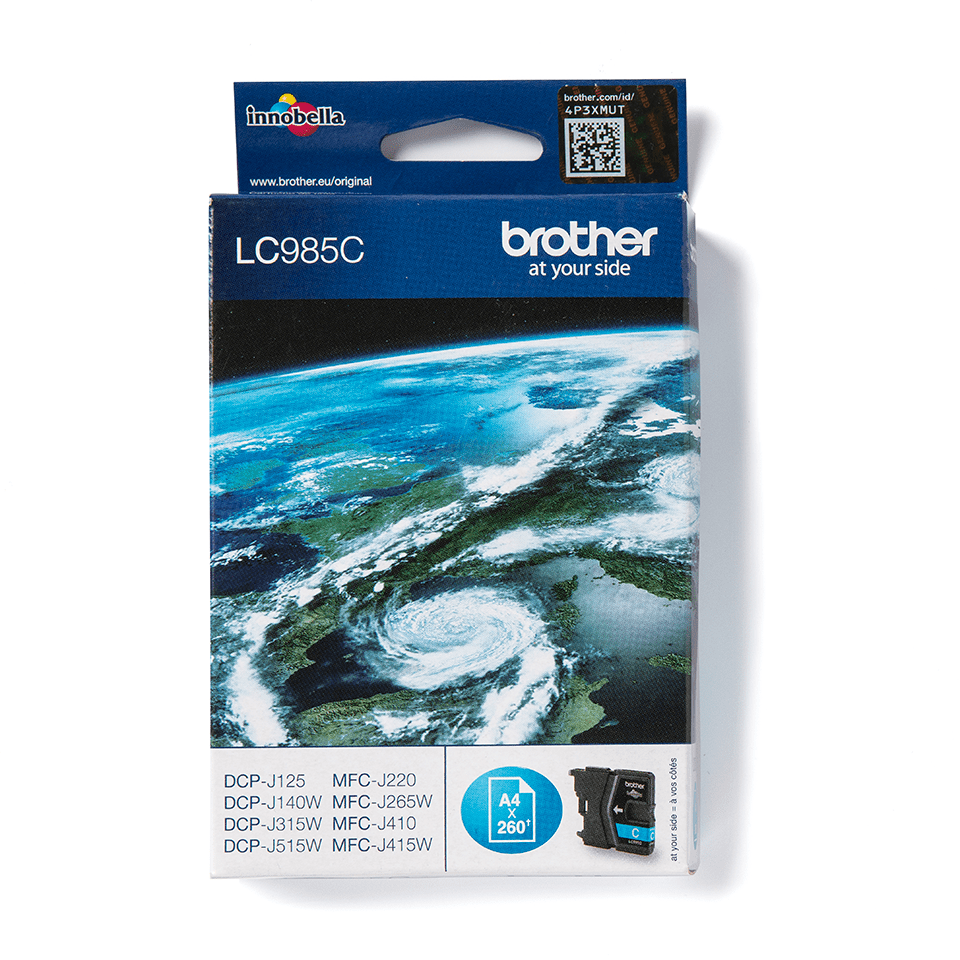 Brother LC-985C Tintenpatrone – Cyan