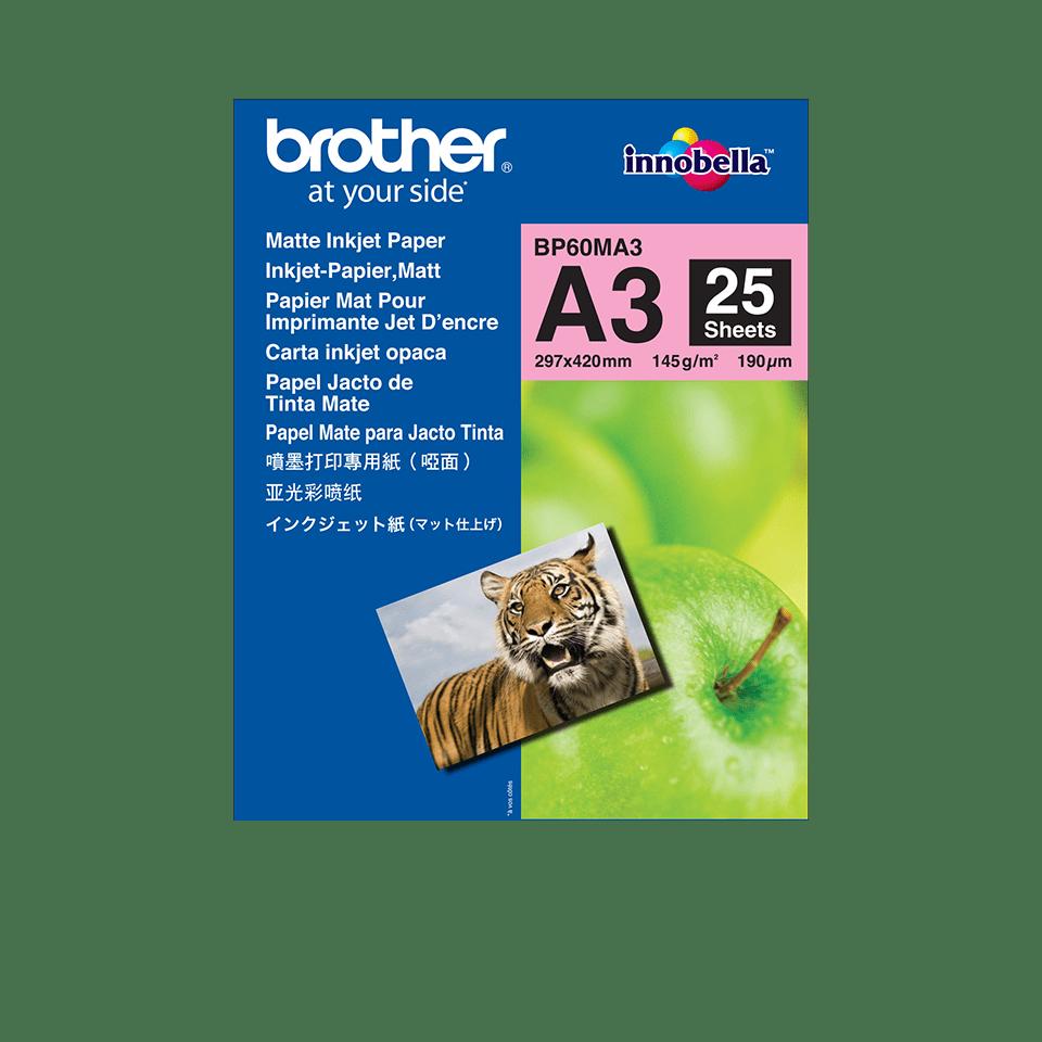 Brother BP60MA3 Mattes Inkjetpapier A3
