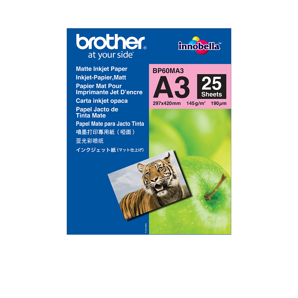 Brother BP60MA3 Mattes Inkjetpapier A3 0