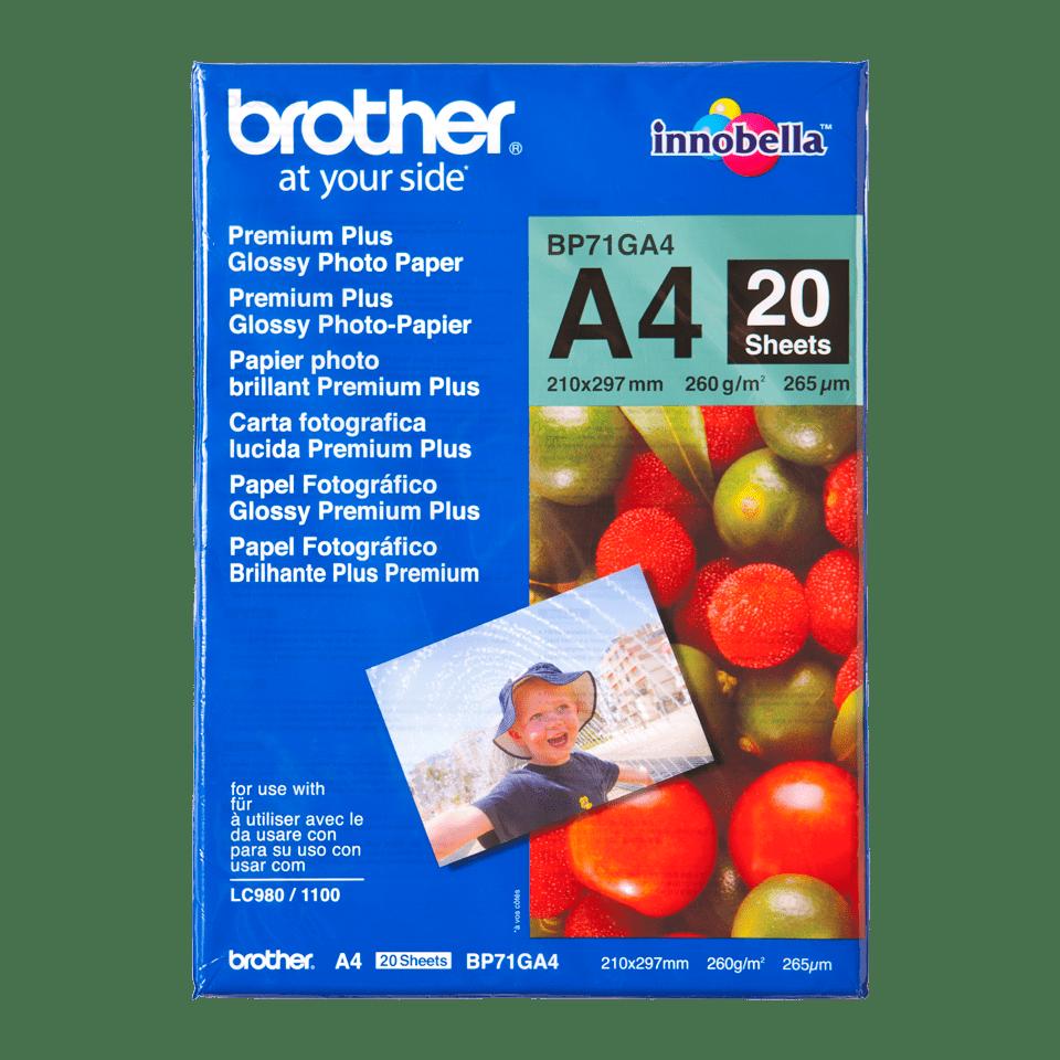 Brother BP71GA4 Fotopapier A4